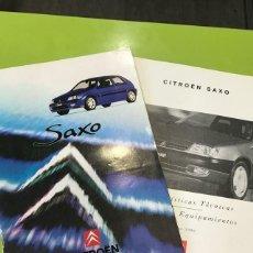 Coches y Motocicletas: CÁTALOGO CITROEN SAXO AM 1996. Lote 176903007