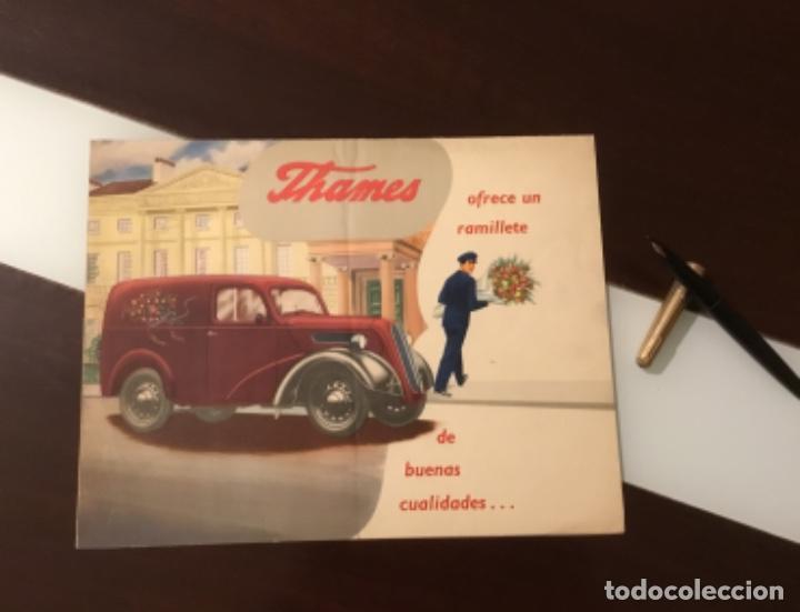 ANTIGUO CATÁLOGO CAMIÓN FORD THAMES (Coches y Motocicletas Antiguas y Clásicas - Catálogos, Publicidad y Libros de mecánica)