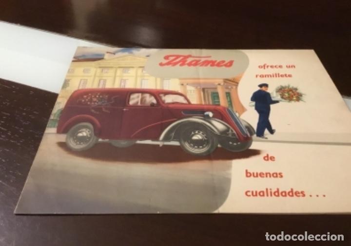 Coches y Motocicletas: Antiguo catálogo camión ford thames - Foto 2 - 158762662