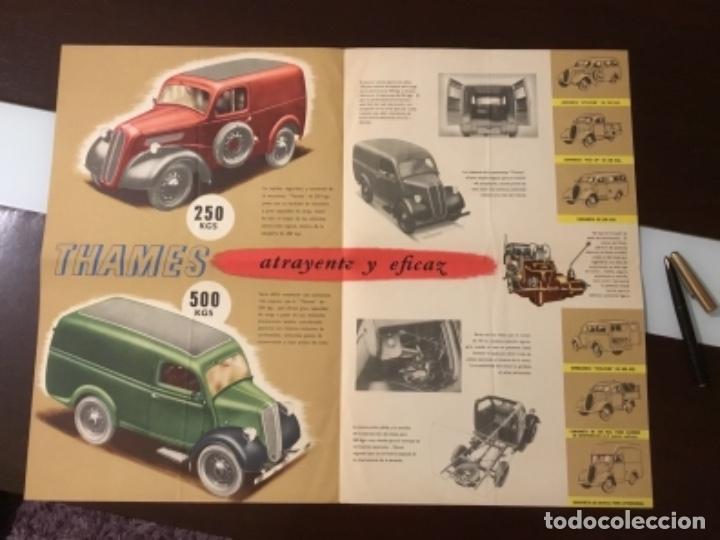Coches y Motocicletas: Antiguo catálogo camión ford thames - Foto 4 - 158762662