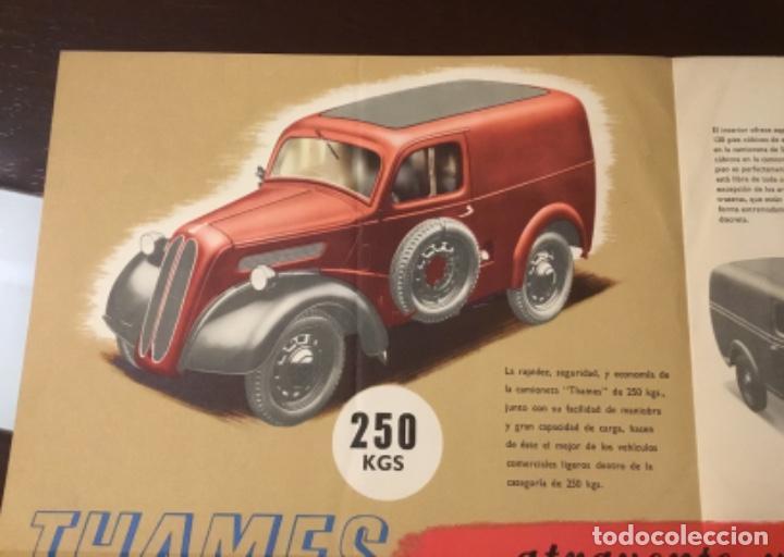 Coches y Motocicletas: Antiguo catálogo camión ford thames - Foto 5 - 158762662