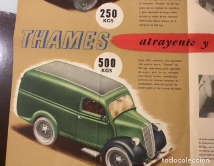 Coches y Motocicletas: Antiguo catálogo camión ford thames - Foto 6 - 158762662
