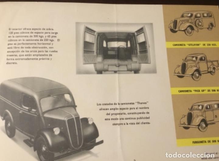 Coches y Motocicletas: Antiguo catálogo camión ford thames - Foto 7 - 158762662