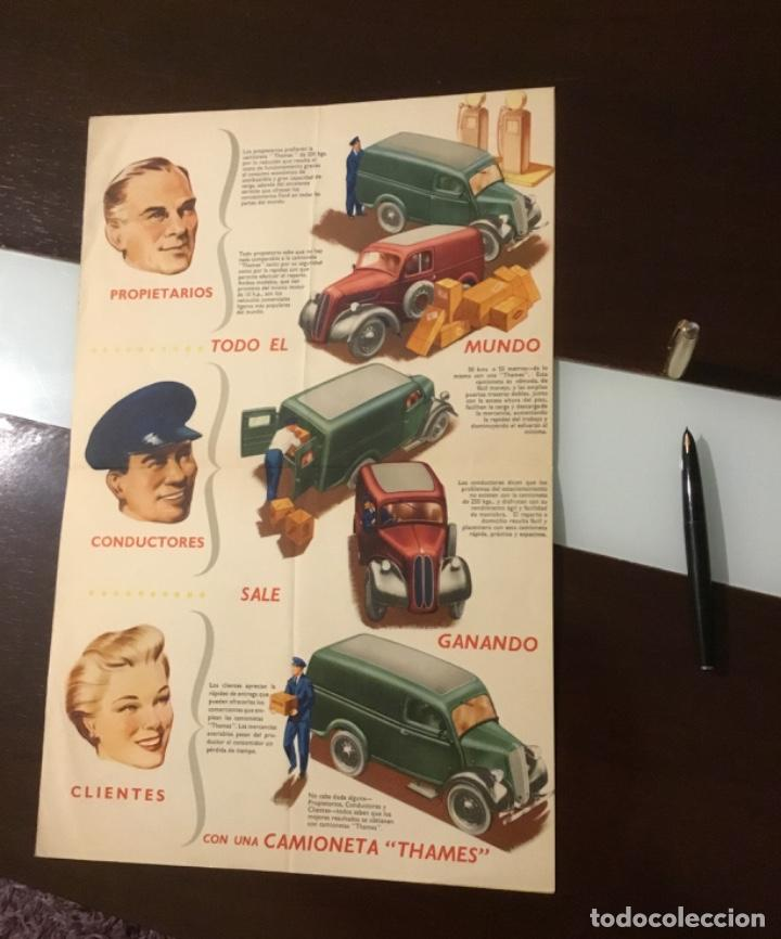 Coches y Motocicletas: Antiguo catálogo camión ford thames - Foto 10 - 158762662