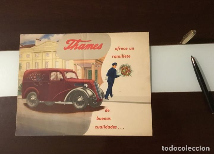 Coches y Motocicletas: Antiguo catálogo camión ford thames - Foto 11 - 158762662
