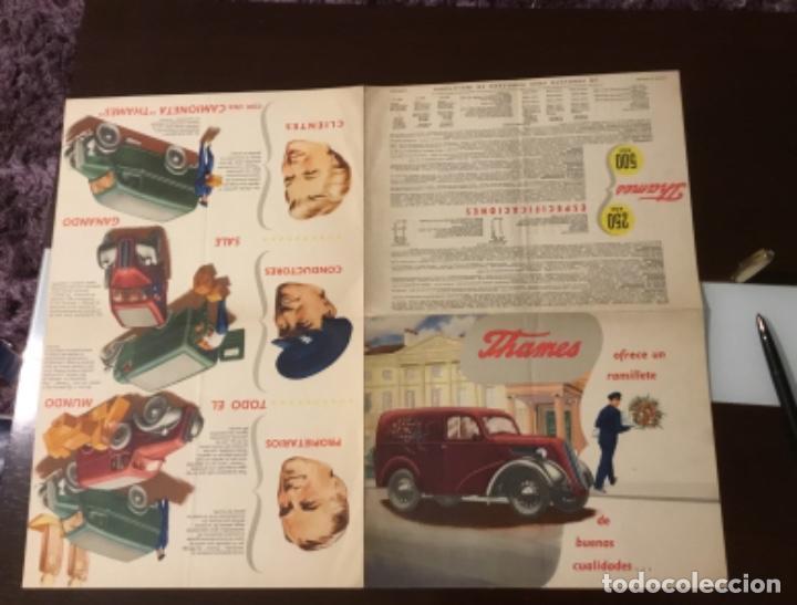 Coches y Motocicletas: Antiguo catálogo camión ford thames - Foto 12 - 158762662