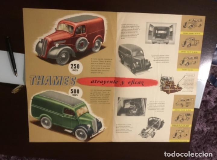 Coches y Motocicletas: Antiguo catálogo camión ford thames - Foto 13 - 158762662