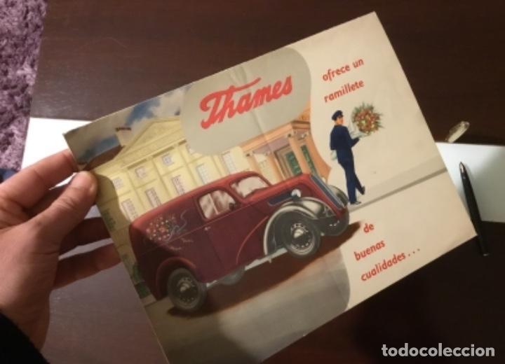 Coches y Motocicletas: Antiguo catálogo camión ford thames - Foto 14 - 158762662