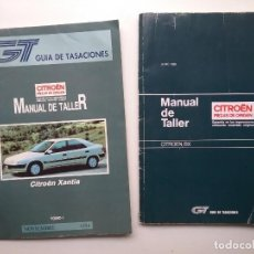 Coches y Motocicletas: CITRÖEN AUTOMÓVIL MANUAL DE TALLER XANTIA / BX 1989 - 1994. Lote 158931062