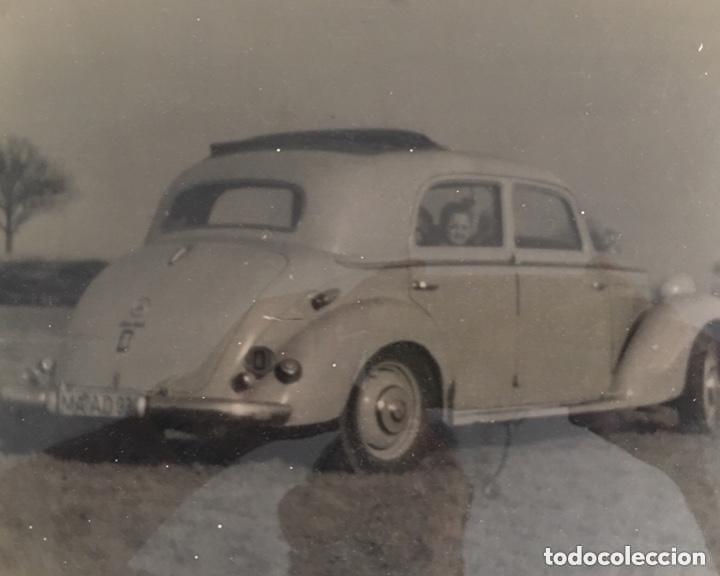 ANTIGUA FOTOGRAFÍA DE COCHE ANTIGUO MEDIDAS 18 X 24 CENTÍMETROS. (Coches y Motocicletas Antiguas y Clásicas - Catálogos, Publicidad y Libros de mecánica)