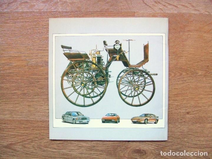 Coches y Motocicletas: 100 AÑOS DEL AUTOMOVIL MEMORIA CAJA DE CAMINOS AÑO 1985 - Foto 2 - 111794419