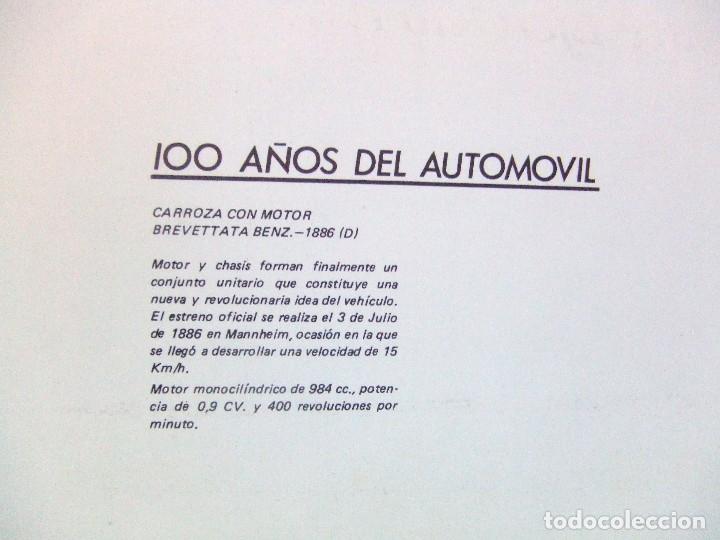 Coches y Motocicletas: 100 AÑOS DEL AUTOMOVIL MEMORIA CAJA DE CAMINOS AÑO 1985 - Foto 4 - 111794419