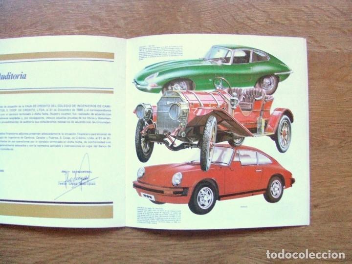 Coches y Motocicletas: 100 AÑOS DEL AUTOMOVIL MEMORIA CAJA DE CAMINOS AÑO 1985 - Foto 10 - 111794419