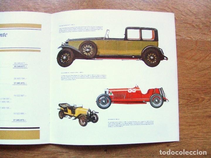 Coches y Motocicletas: 100 AÑOS DEL AUTOMOVIL MEMORIA CAJA DE CAMINOS AÑO 1985 - Foto 12 - 111794419