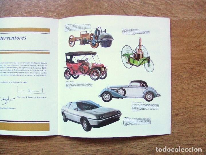 Coches y Motocicletas: 100 AÑOS DEL AUTOMOVIL MEMORIA CAJA DE CAMINOS AÑO 1985 - Foto 13 - 111794419