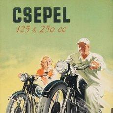 Coches y Motocicletas: CSEPEL 125 & 250 CC - PUBLICIDAD IMÁGENES MOTOR MOTOS MOTOCICLETAS MOTO-CICLISMO. Lote 147925322