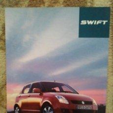 Coches y Motocicletas: CATÁLOGO SUZUKI SWIFT. Lote 159682024