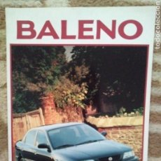 Coches y Motocicletas: CATÁLOGO SUZUKI BALENO. Lote 159682712