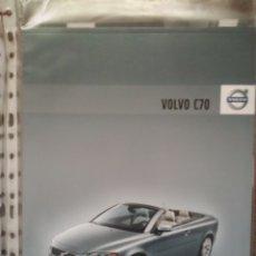 Carros e motociclos: CATÁLOGO VOLVO C70 CABRIO. Lote 159748494