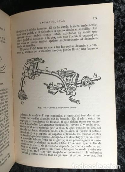 Coches y Motocicletas: MOTOCICLETAS - ARIAS PAZ - 1953 - 9ª EDICION - Foto 3 - 159834970
