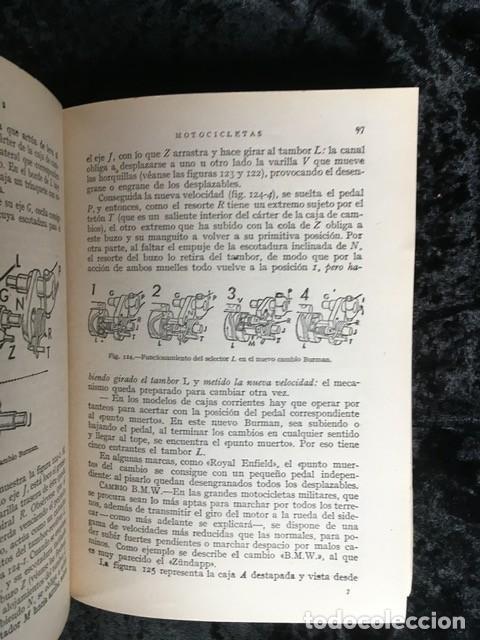 Coches y Motocicletas: MOTOCICLETAS - ARIAS PAZ - 1953 - 9ª EDICION - Foto 4 - 159834970