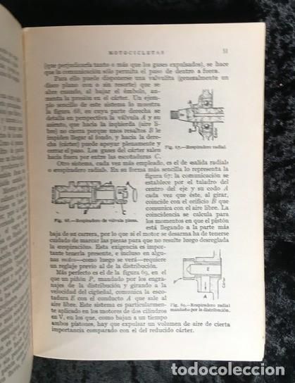 Coches y Motocicletas: MOTOCICLETAS - ARIAS PAZ - 1953 - 9ª EDICION - Foto 5 - 159834970