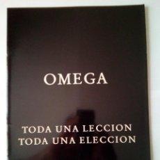 Coches y Motocicletas: OPEL OMEGA- CATALOGO PUBLICITARIO 1992 -22 PAG-ORIGINAL -CASTELLANO. Lote 159850984
