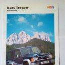 Coches y Motocicletas: ISUZU TROOPER - ACCESORIOS -CATALOGO PUBLICITARIO--ESPAÑOL-ORIGINAL 12 PAG. Lote 159854134
