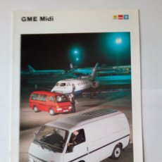 Coches y Motocicletas: GME MIDI -CATALOGO PUBLICITARIO - -12 PAG-ORIGINAL- ESPAÑOL. Lote 165090494