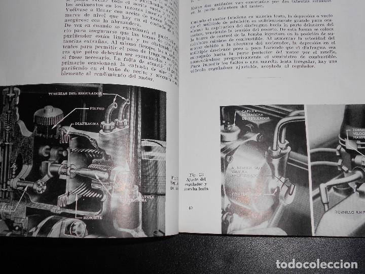 Coches y Motocicletas: Antiguo Manual de Instrucciones Original del Super Tractor EBRO Motor Iberica S.A. 2ª Edic. de 1963. - Foto 4 - 160088090