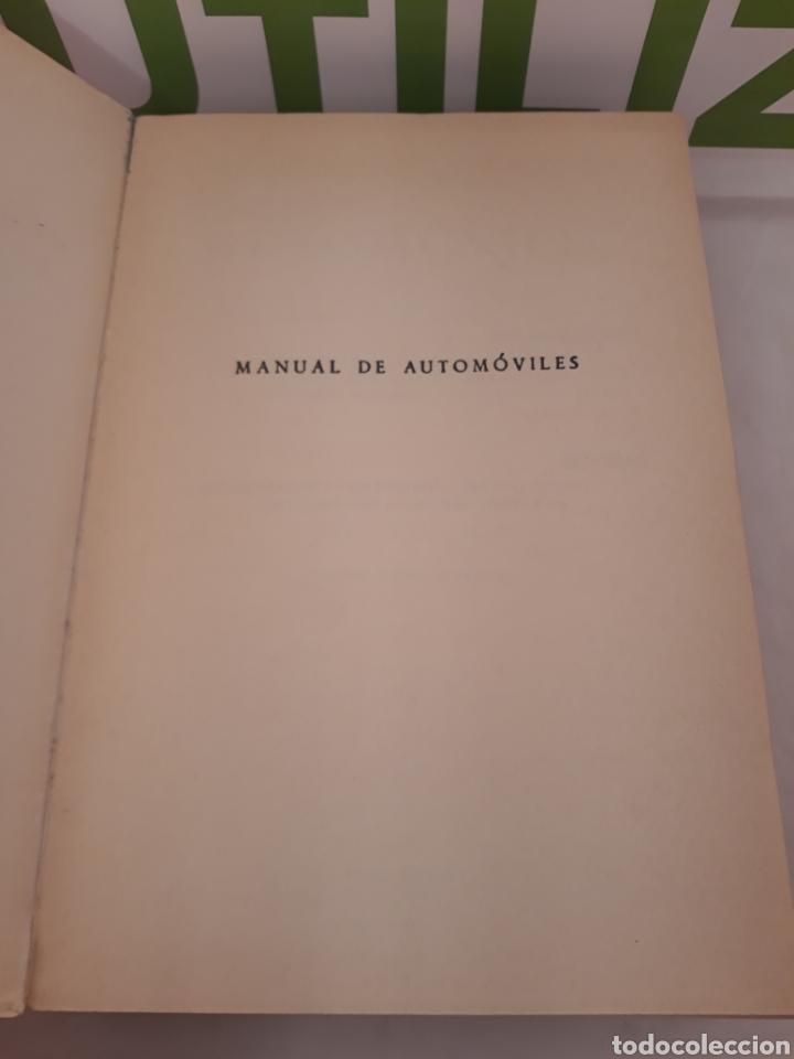 Coches y Motocicletas: Manual de automoviles.Arias Paz.43 edicion. - Foto 2 - 160281096