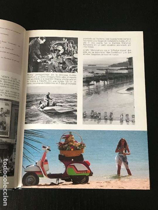 Coches y Motocicletas: MOTO VESPA 1952 - 1987 LIBRO 35 ANIVERSARIO DE VESPA SCOOTER - NO LAMBRETTA GUZZI MONTESA OSSA - Foto 5 - 160931450