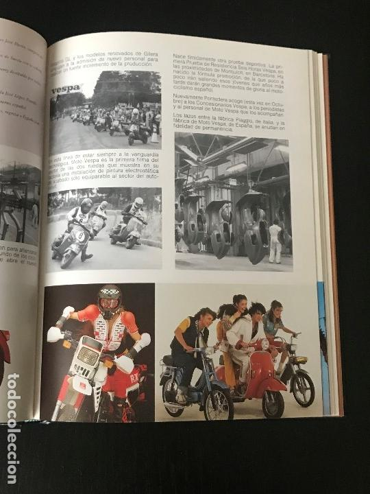Coches y Motocicletas: MOTO VESPA 1952 - 1987 LIBRO 35 ANIVERSARIO DE VESPA SCOOTER - NO LAMBRETTA GUZZI MONTESA OSSA - Foto 7 - 160931450