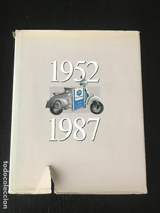 MOTO VESPA 1952 - 1987 LIBRO 35 ANIVERSARIO DE VESPA SCOOTER - NO LAMBRETTA GUZZI MONTESA OSSA (Coches y Motocicletas Antiguas y Clásicas - Catálogos, Publicidad y Libros de mecánica)