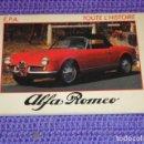 Coches y Motocicletas: TOUTE L'HISTOIRE : ALFA ROMEO - 1984 -. Lote 160961410