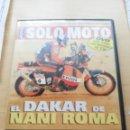 Coches y Motocicletas: DVD EL DAKAR DE NANI ROMA - SOLO MOTO - REPSOL . Lote 160965558