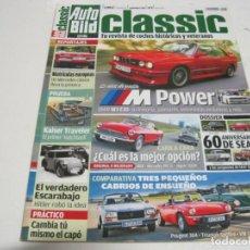 Coches y Motocicletas: AUTO BILD CLASSIC: BMW M3; SEAT 600; SEAT 1500; SEAT 124; TRIUMPH SPITFIRE; SEAT 1400; ETC.... Lote 161022150