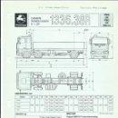 Coches y Motocicletas: HOJA DE CARACTERÍSTICAS CAMIÓN REMOLCADOR PEGASO 6 X 2/4, 1336.38R, PMA 26 T, PMC 40 T,360 CV,1989. Lote 161138306