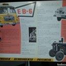 Coches y Motocicletas: BARREIROS DIESEL CATALOGO MOTORES. Lote 161243706