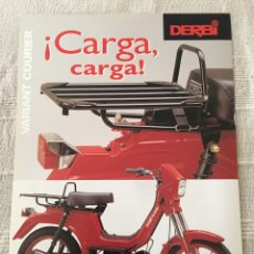 Coches y Motocicletas: FOLLETO MOTO DERBI VARIANT COURIER. Lote 161388132