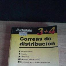 Coches y Motocicletas: AUTODATA 3 + 4 - CORREAS DE DISTRIBUCION - GASOLINA Y DIESEL. Lote 161509198