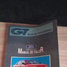 Coches y Motocicletas: MANUAL DE TALLER FORD ESCORT-ORION '91 - FEBRERO 1992. Lote 161554046