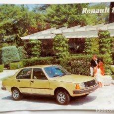Coches y Motocicletas: CATALOGO PUBLICIDAD RENAULT 18 GTS GTD AÑO 1981 EN CASTELLANO. Lote 162371418