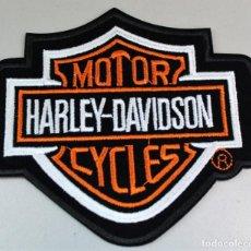 Coches y Motocicletas: PARCHE HARLEY DAVIDSON. TAMAÑO 12X10,5 CM. Lote 162444334