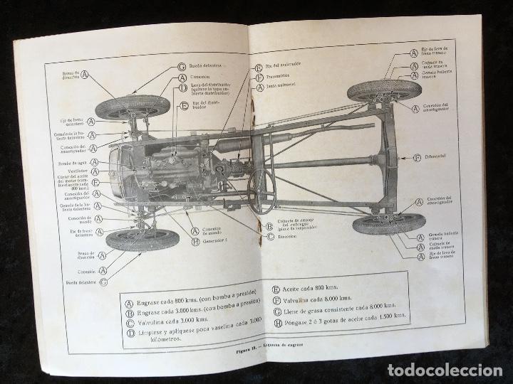 Coches y Motocicletas: FORD MODELO A - LIBRO DE INSTRUCCIONES - ILUSTRADO - BUEN ESTADO - Foto 4 - 162513626