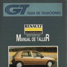 Coches y Motocicletas - catalogo guia TASACIONES manual taller 1992 - RENAULT CLIO RECAMBIO ORIGINALES TOMI I - 162917114