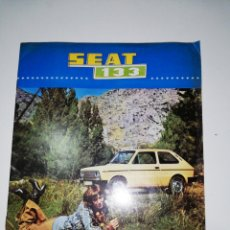 Coches y Motocicletas: REVISTA SEAT 133 ORIGINAL. Lote 179542187