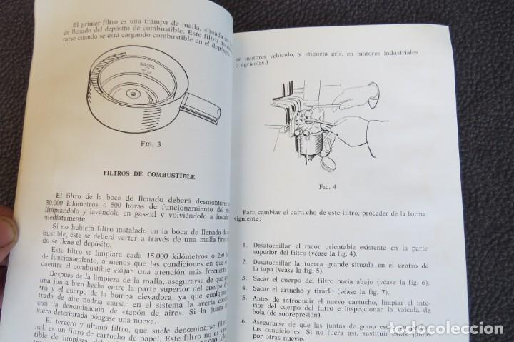 Coches y Motocicletas: MANUAL INSTRUCCIONES FURGONETA ROMEO. MOTOR PERKINS 4/99 - 1963 - Foto 8 - 163044794