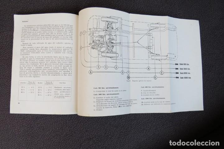 Coches y Motocicletas: MANUAL INSTRUCCIONES FURGONETA ROMEO. MOTOR PERKINS 4/99 - 1963 - Foto 10 - 163044794