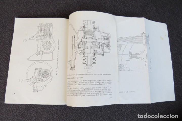 Coches y Motocicletas: MANUAL INSTRUCCIONES FURGONETA ROMEO. MOTOR PERKINS 4/99 - 1963 - Foto 11 - 163044794